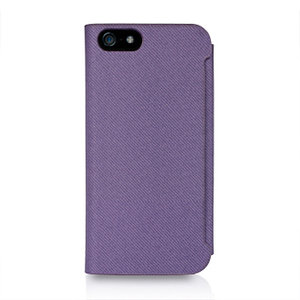 Macally Wallet Case Purple voor iPhone 5 / 5S / 5SE