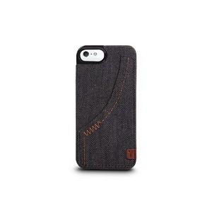 The Joy Factory Denim Hardshell Case Smoke voor iPhone 5 / 5S / 5SE