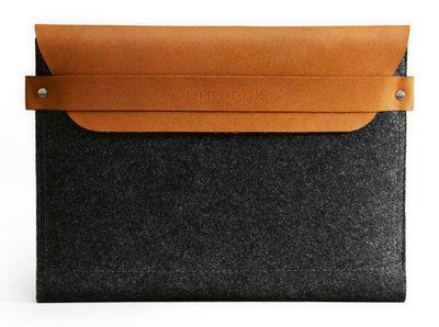 Mujjo Envelope Sleeve voor iPad - Tan