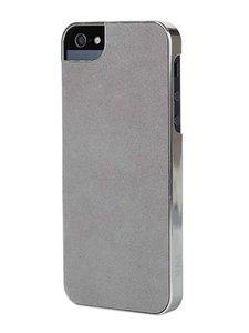 Sena Metallic Ultrathin Snap-On Case Slate / Silver voor iPhone 5 / 5S / 5SE