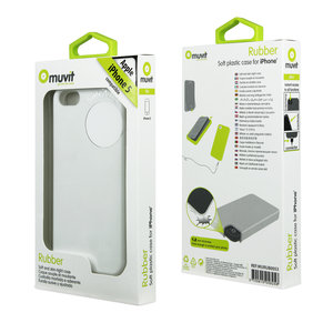 Muvit Silicon Case White voor iPhone 5 / 5S / 5SE