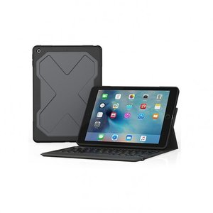 ZAGG Rugged Messenger iPad 9.7 2017 Backlit Keyboard case zwart