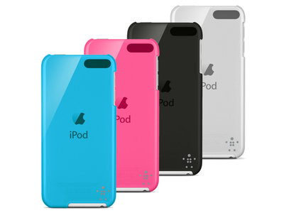 Belkin cover shield Sheer voor de iPod 5th & 6th generation (16GB) zwart