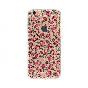 FLAVR iPlate Flamingos voor de iPhone 6/6S/7/8 (Colourful)