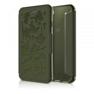 Itskins Spectra Book Case Kaki voor iPhone 7 / 8   ACTIEPRIJS