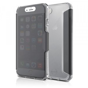 Itskins Spectra Vision Book Case Transparant voor iPhone 7 / 8