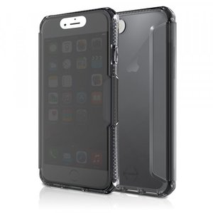 Itskins Spectra Vision Book Case Zwart voor iPhone 7 / 8