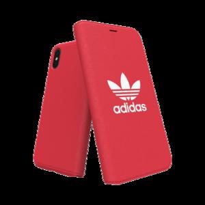 Adidas Booklet Case voor de iPhone X / Xs (rood)