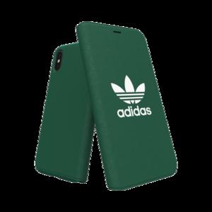 Adidas Booklet Case voor de iPhone X / Xs (groen)