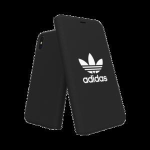 Adidas Booklet Case voor de iPhone X / Xs (zwart)