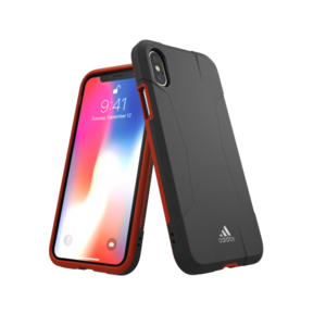 Adidas SP Solo Case Rood voor iPhone X/Xs
