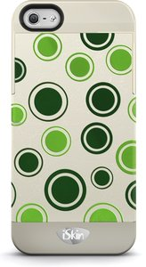 iSkin Vibes Polka Dot voor iPhone 5 / 5S / 5SE