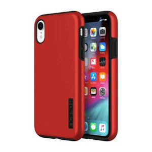 Incipio DualPro Case Apple iPhone Xr iridescent (rood/zwart)