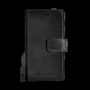 Bugatti Zurigo Wallet Zwart voor iPhone X/Xs