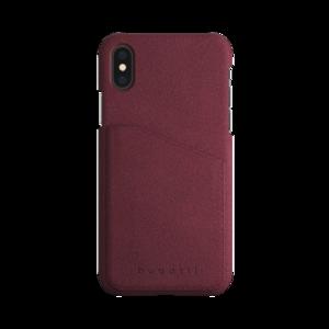 Bugatti Londra Suéde Raspberry voor iPhone X/Xs