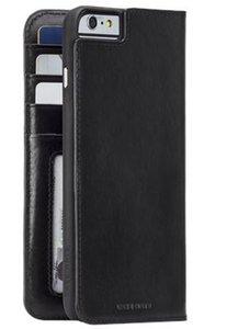 Case-Mate Wallet Folio hoesje voor iPhone 6/6s Plus - Zwart
