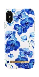 iDeal of Sweden Fashion Back Case Baby Blue Orchid voor iPhone Xs | X