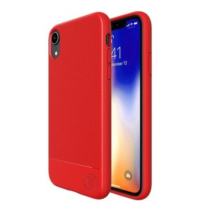 JT Berlin BackCase Pankow Soft voor iPhone Xr (rood)