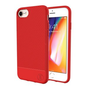 JT Berlin BackCase Pankow Soft voor iPhone 7 / 8 (rood)