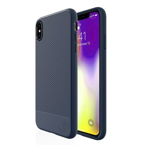 JT Berlin BackCase Pankow Soft voor iPhone XS Max (blauw)
